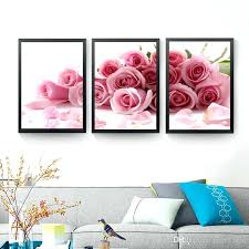 rose wall art pink rose wall art canvas painting posters and print flowers wall print wall on neil rose metal wall art with rose wall art magicfmalgarve