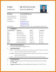 How To Write Biodata For Teaching Job Filename New Company