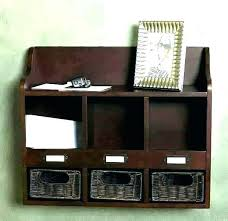 wooden wall mail organizer key holder for wall wooden wall mounted mail holders letter holder wall