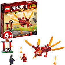 Lego Ninjago 71701 Kais Feuerdrache: Amazon.de: Spielzeug