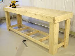 Bench Awesome Wooden Tool Bench 49 Free Diy Workbench Plans
