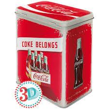 Europas großer Westernshop | Vorratsdose - Coca Cola - Logo Red ...