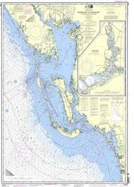Nautical Chart Of Fort Myers Charlotte Harbor