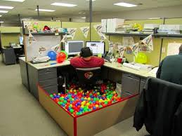 cool office desk. Funny Pictures About Birthday Office Decoration. Oh, And Cool Pics Also, Desk U