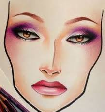 53 Best Paper Makeup Images Makeup Face Charts Makeup