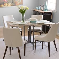 dining table material. convertible wood dining table grey material