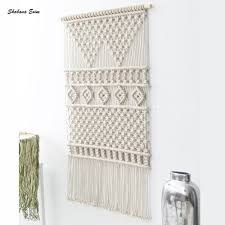 cotton large macrame wall hangings boho