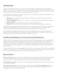 What Information Should Be On A Resume Free Resume Example And