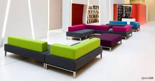 modern office reception furniture. 93 green and purple fabric reception sofas large double office modern furniture