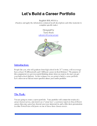 cover page for portfolio template career portfolio cover page 20 portfolio templates themes and psds web