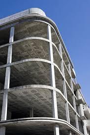 concrete parking structure frame