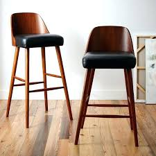 west elm counter stools wood and leather bar stools bentwood leather bar counter stools west elm