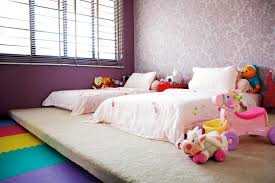 kids bedroom furniture singapore. Children Carpeted Platform Kids Bedroom Furniture Singapore L