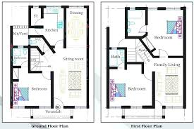 Famous Three Bedroom Ground Floor Plan 3 Bedroom Flat Plan Drawing Three  Floor Plans Two Bedroom .
