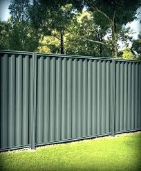 corrugated metal privacy fence. Fine Metal Corrugated Metal Privacy Fence Steel Panels Sheet Fencing Fences How To  Install A   And Corrugated Metal Privacy Fence L