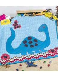 Free Quilt Patterns for Kids - Polly Dinosaur Baby Quilt Pattern ... & Polly Dinosaur Baby Quilt Pattern Adamdwight.com