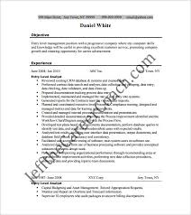 resume template for entry level business analyst free pdf entry level business analyst resume