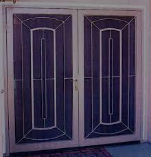 security screen doors. Wundfall 2 Double Door Design Security Screen Doors C