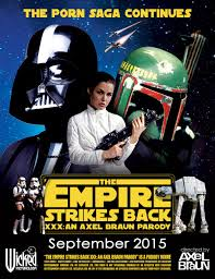 Comic Con 2014 The Empire Strikes Back XXX Announced for 2015 Empire Strikes Back XXX Poster