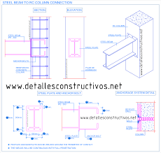 Steel Beams To Concrete Column Connections New Images Beam