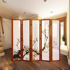 japanese style office. Chinese Style Folding Screen Japanese Fashion Solid Wood Bedroom Office Fabric E