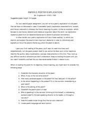 poetry explication sample of admiring its oddities and 3 pages paper 2 poetry explication