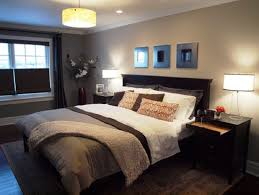 Master Bedroom Painting Master Bedroom Paint Colors Grey Bed Grey Wall Purple Table Lamp