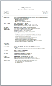 New Graduate Nursing Resume Examples Free Resumes Tips