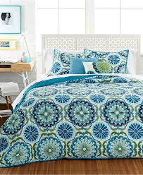 cute girl comforters teal blue and mint green