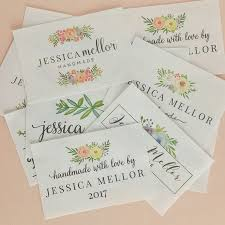 28 best Fabric labels images on Pinterest | Irons, Blanket and ... & Watercolor floral labels personalized with your name or your · Fabric TagsFabric  LabelsQuilt ... Adamdwight.com