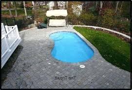 Pool Pool Designs For Small Yards Very Small Pool House Topaz Pool