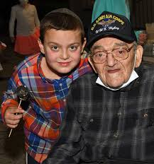 100 Year Old WWII Vet Celebrates Surviving COVID at Northeast ...