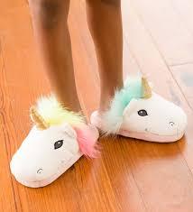 Kids Light Up Unicorn Slippers Kids Led Light Up Unicorn Slippers In Shop All Fairies