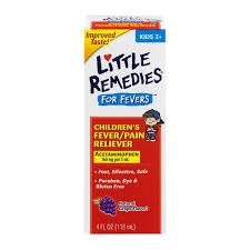 Little Remedies For Fevers Childrens Fever Pain Reliever