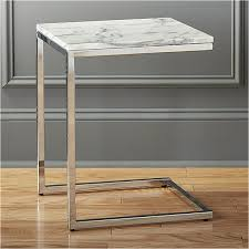 side table marble top accent table