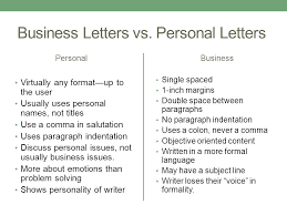 Personal Business Letter Examples Magdalene Project Org