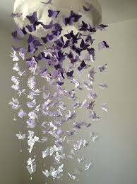 Paper Chandelier Love This Diy Butterfly Chandelier Mobile Im Thinking Maybe