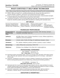 Desk Assistant Sample Resume Sample Resume For A Midlevel It Help Desk Professional Monster Com 23