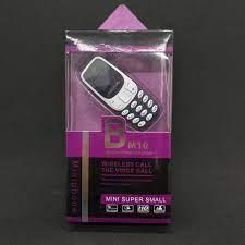 Điện Thoại Siêu nhỏ Mini N3310 màu Xanh Đen (Mã SP: BM10) – nhỏ gọn, âm  thanh cực to, kết nối SmartPhone – pin trâu