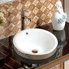overflow sink 7 artistic sink overflow spare cover chrome trim bathroom ceramic basin sink overflow cover overflow sink stainless steel basket strainer