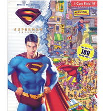 1989 superman a big coloring book golden #1215 new unused condition pics!! 23728 Superman Returns Official Movie Book Includes Activity P P 4 99 E Clips Usa