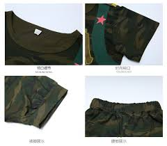 <b>Kids Boy</b> Suits Child <b>Camouflage</b> Short sleeve <b>T</b> Shirt +pant ...