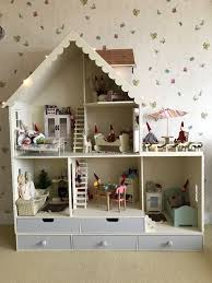 wooden barbie doll furniture. See How Chicagoean Decorates A Wooden Barbie Martin Dollhouse Country Kit. Barbie, Monster Doll Furniture -