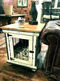 dog kennel end tables dog crate end table extra large large dog crate furniture large dog dog kennel
