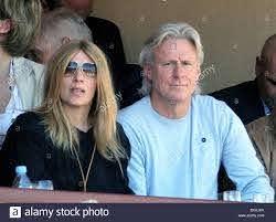 20.aprile.2012. MONACO Bjorn Borg di Svezia e moglie frequentare Rafael  NADAL GIOCO DURANTE IL MONTE CARLO Rolex Masters Foto stock - Alamy