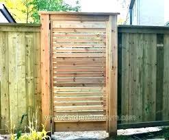 wood garden gate designs privcy bckyrd ides wooden garden gate diy