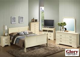 Louis Bedroom Furniture White Wash Louis Phillipe 6 Piece Bedroom Set