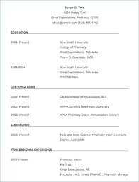 Samples Of A Good Resume Word Resume Template Free Samples Examples ...