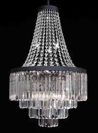 g7 2183 11 gallery chandeliers retro odeon crystal glass fringe 3 tier chandelier