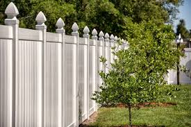 Vinyl fence ideas Picket Fence With Its Decorative Tapered Posts Vinyl Fence Such As This Brings Class And Sophistication To Your Property It Draws Inspiration From The Late Victorian Own The Yard 25 Vinyl Fence Ideas And Pictures For Your Yard Garden Or Home in